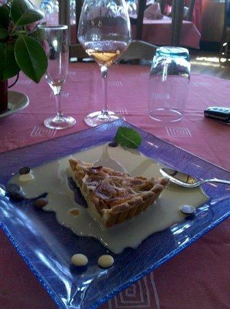 Hôtel - Restaurant Des Bains : exemple dessert