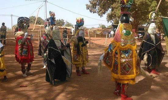 Maliymas tours in Burkina Faso mask annual festival from all west Africa
