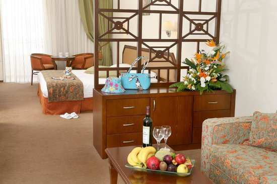 Aquamare Beach Hotel & Spa: Family Room