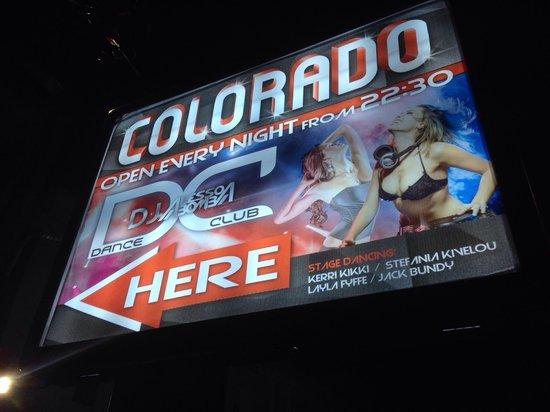 Colorado Club: The entrance!