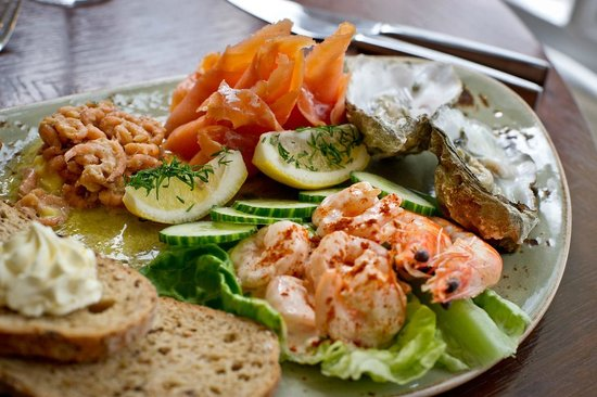 Waterhead Hotel: Sample restaurant dish