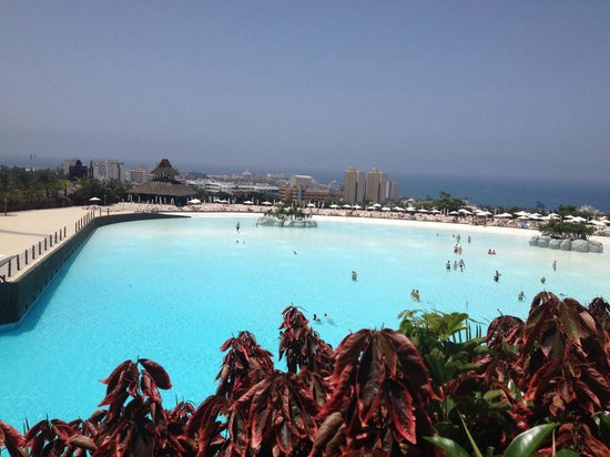 Siam Park: View from cabana