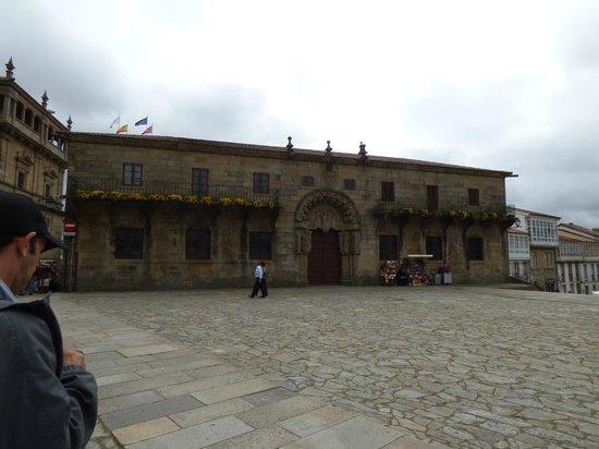Plaza del Obradoiro: PLAZA
