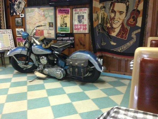 Pink Cadillac Diner: Harley