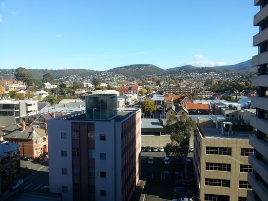 Travelodge Hotel Hobart: The view from floor 9 room 912