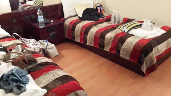 Buyuk Avanos Hotel: odalarda cekyattan yataklar