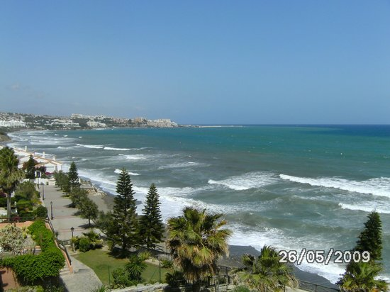 Gran Hotel Elba Estepona & Thalasso Spa: vue regard gauche de notre chambre