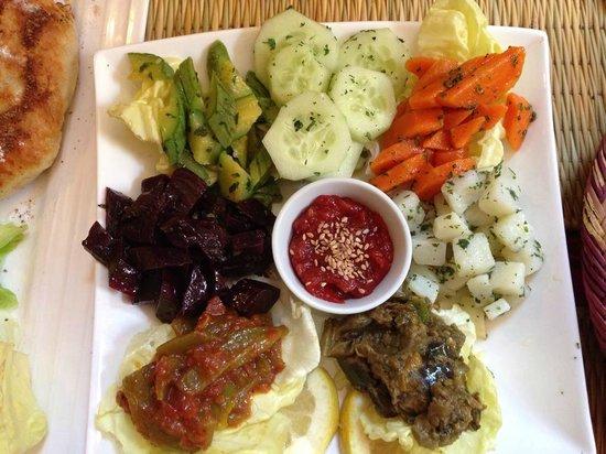 Kui-Zin: Moroccan salad selection