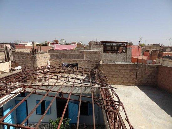 Riad Aliya: Terrasse