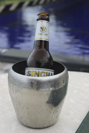 Vana Belle, A Luxury Collection Resort, Koh Samui : Ice Cold Beer
