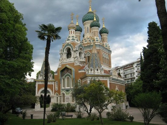 Russisch Orthodoxe Kathedrale: Cathedrale Russe Nice