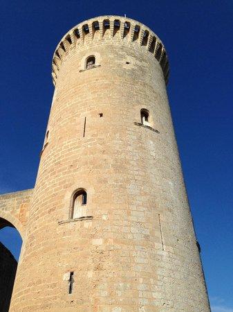 Castell de Bellver: The tower