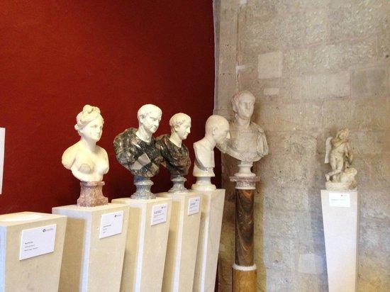 Castell de Bellver (Schloss Bellveder): Part of the exhibition