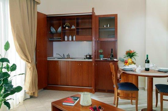 Hotel L' Oasi: Cucina appartamento