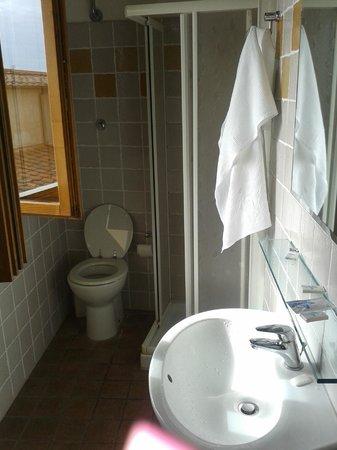 Helvetia : The bathroom