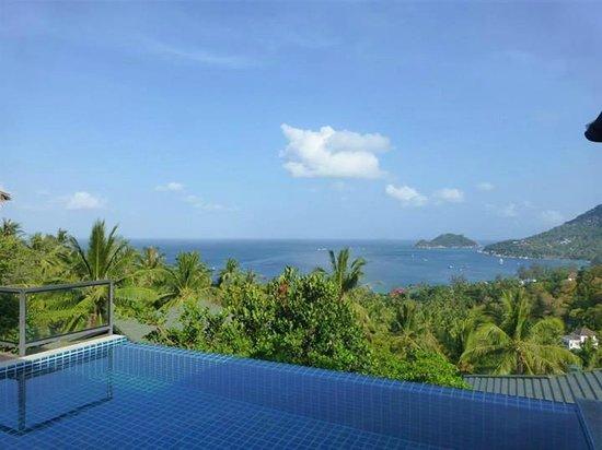 Koh Tao Heights Pool Villas: Amazing view