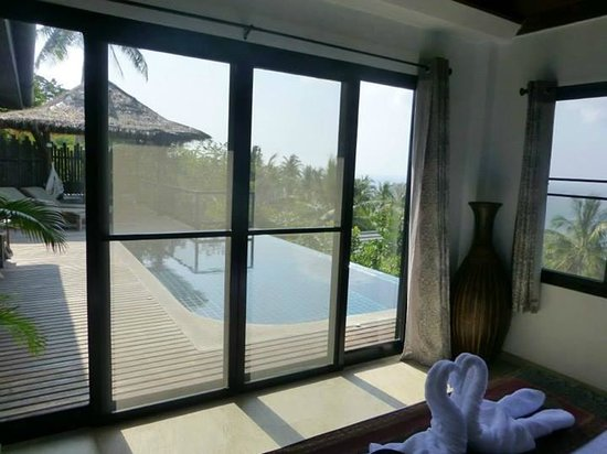 Koh Tao Heights Pool Villas: View from the bedroom