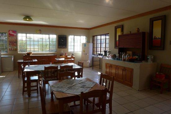 Aqua Terra Guest House: Dining hall