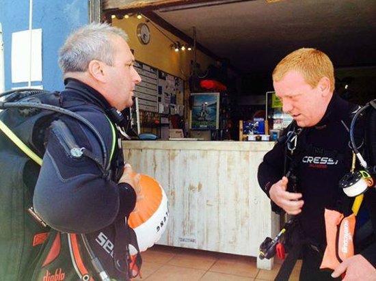 Diving Life : Buddy Check :)