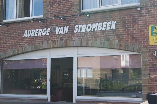 Auberge Van Strombeek: voorgevel