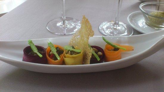 La Reserve Rimbaud : Mise en bouche végétarienne
