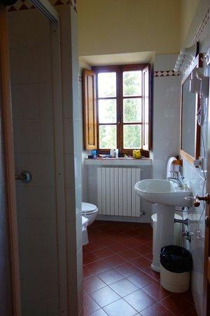 Relais Vignale : Bathroom- pretty basic