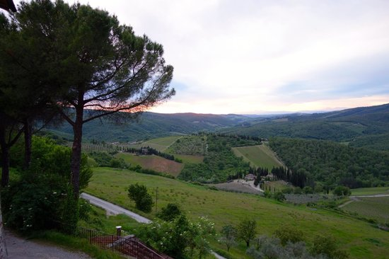 Relais Vignale: Breathtaking view every morning!