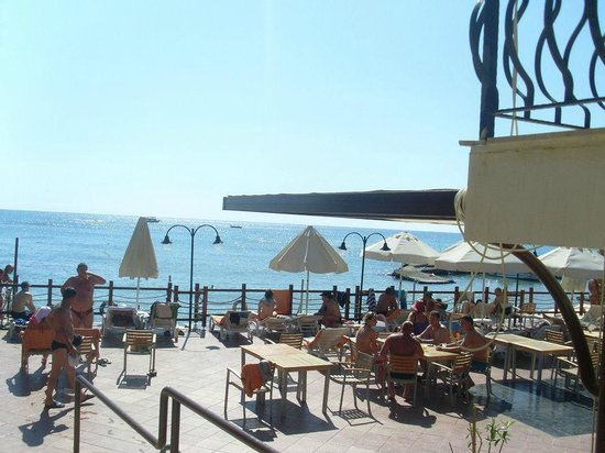 Aventura Park Hotel: Пляж отеля Aventura park