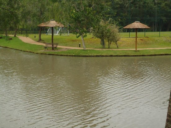 Mabu Thermas Grand Resort: Tanque de Pesca