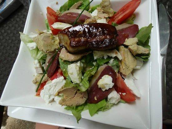 La Table des Coquelicots : salades les coquelicots