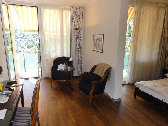 Hotel Eden: Zimmer - Ansicht Komfort Bucht