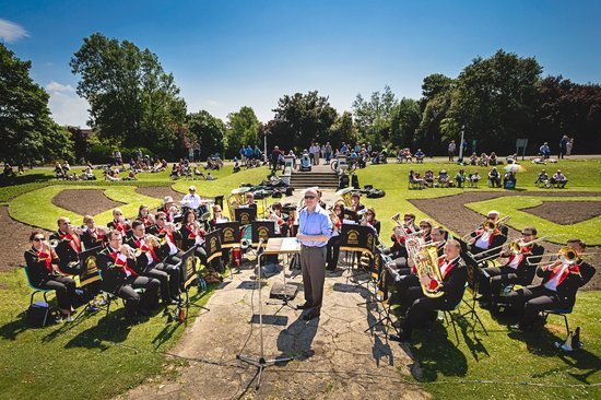 Happy Mount Park: Brass Band Concerts in summer