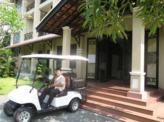 Hoi An Historic Hotel: Elektroauto