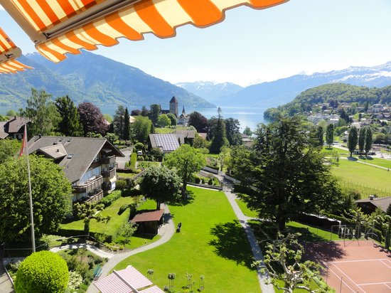 Hotel Eden: Aussicht vom Zimmer-Balkon