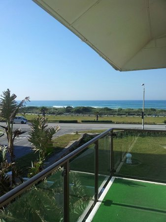 Palm Beach Guesthouse : View from the balcony in Sea View Suite