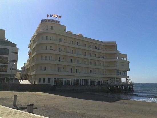 El Medano Hotel: one of my photographs.