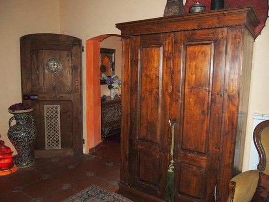 Villa Poggio di Gaville: interno