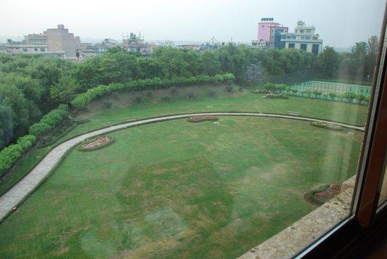 Hyatt Regency Kathmandu: View from east facing room