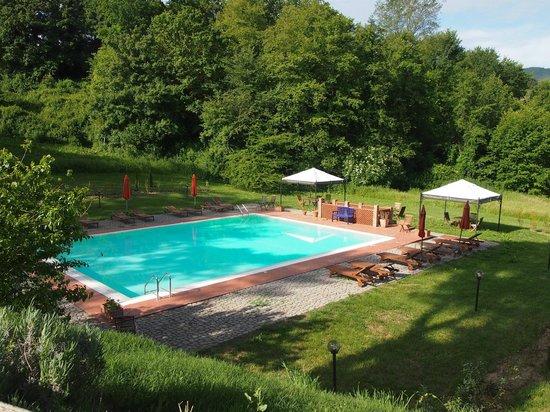 Villa Poggio di Gaville: piscina
