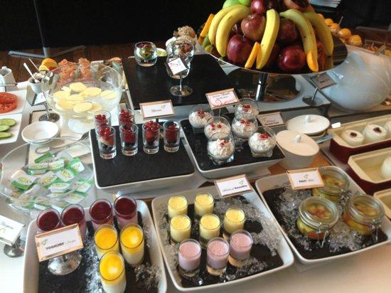 Kempinski Residences & Suites, Doha: Breakfast Selection
