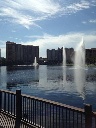 Wyndham Grand Orlando Resort Bonnet Creek: Lake