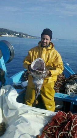 Porto Tricase, Italie : Pescatrice