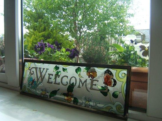 Portumna House Bed & Breakfast: Portumna House B& B  Welcome