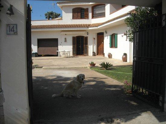 B&B Villa Trinacria: Ingresso della villa TRINACRIA