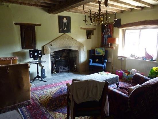 Harthill Hall Holiday Cottages: one of the sitting rooms at The Manor House