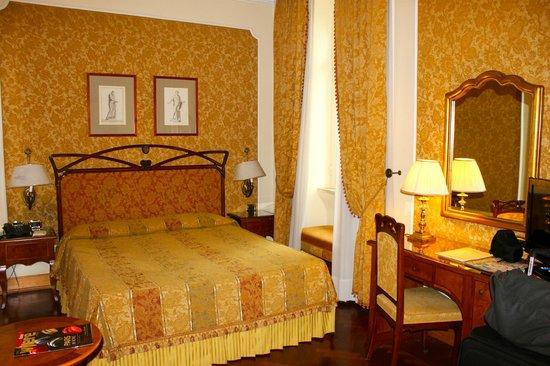 Our room in the Villa Morgagni