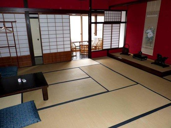 Yogetsu: camera da letto senza tatami