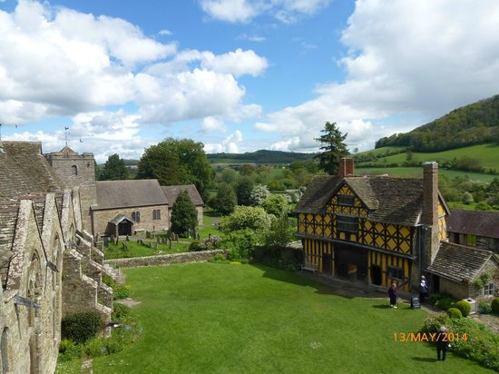 Stokesay Castle: The Gatehouse and Church