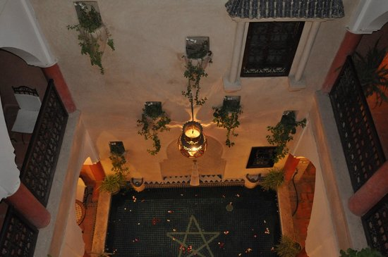 Riad Plein Sud: relax in the night