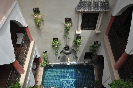 Riad Plein Sud : the view from the room